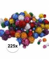 Hobby x knutsel pompons mm glitterkleuren 10107820