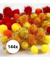 Hobby x knutsel pompons mm kleuren 10107818