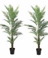 Hobby x kunstplanten groene varen binnen