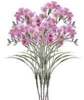 Hobby x lila freesia kunstbloemen 10114580