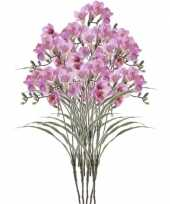 Hobby x lila freesia kunstbloemen 10114581