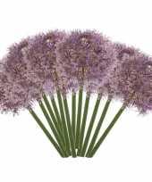 Hobby x lila paarse allium sierui kunstbloemen 10142985