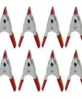 Hobby x mini zeilklemmen zeilclips metaal 10154862