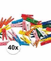 Hobby x miniknijpertjes gekleurd 10095903