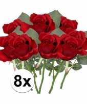 Hobby x rode rozen kunstbloemen 10107026