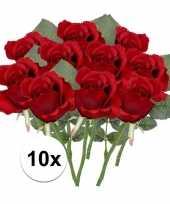 Hobby x rode rozen kunstbloemen 10107027