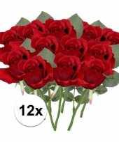 Hobby x rode rozen kunstbloemen 10107028