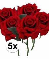 Hobby x rode rozen kunstbloemen 10107191