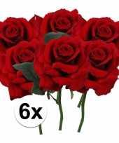 Hobby x rode rozen kunstbloemen 10107192
