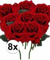 Hobby x rode rozen kunstbloemen 10107199