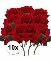 Hobby x rode rozen kunstbloemen 10107200