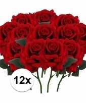Hobby x rode rozen kunstbloemen 10107203