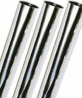 Hobby x rollen metaalfolie zilver 10255267