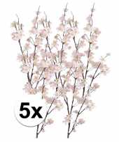 Hobby x roze appelbloesem kunstbloemen tak 10106133