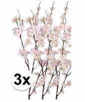 Hobby x roze appelbloesem kunstbloemen tak
