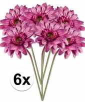 Hobby x roze gerbera kunstbloemen 10105877