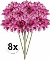 Hobby x roze gerbera kunstbloemen 10105878