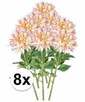 Hobby x roze kunst dahlia tak 10102994