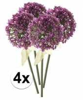 Hobby x roze paarse sierui kunstbloemen 10107350