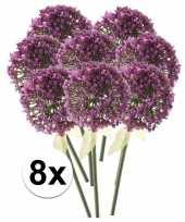 Hobby x roze paarse sierui kunstbloemen 10107353