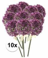 Hobby x roze paarse sierui kunstbloemen 10107354