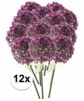 Hobby x roze paarse sierui kunstbloemen 10107355