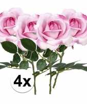 Hobby x roze rozen carol kunstbloemen 10107213