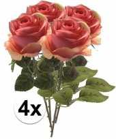 Hobby x roze rozen simone kunstbloemen