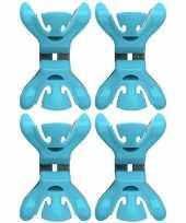 Hobby x slingers decoratie ophangen slingerklemmen blauw