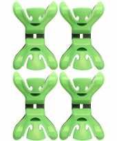 Hobby x slingers decoratie ophangen slingerklemmen groen