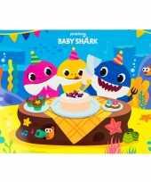 Hobby x stuks placemats kinderen baby shark 10262153