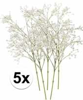 Hobby x witte gipskruid kunstbloemen