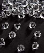 Hobby zakje gram deco diamantjes transparant mm