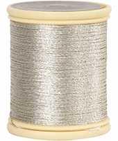 Hobby zilver metallic draad meter