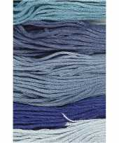 X hobby naaigaren borduurgaren blauwtinten mm
