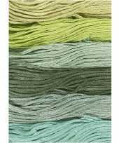 X hobby naaigaren borduurgaren groentinten mm