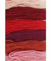 X hobby naaigaren borduurgaren roodtinten mm