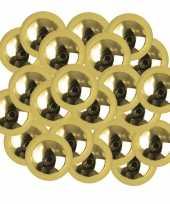 X stuks gouden plastic hobby kralen mm 10247656